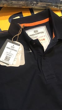 svart och orange Para jumpers polo shirt Stockholm, 162 54