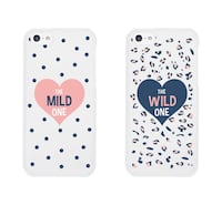 two white and black iPhone cases Langley, V3A 1P8