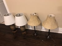 Lots of lamps for sale Mississauga, L5L 3K3