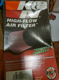 K & N high-flow air filter Edmonton, T5T
