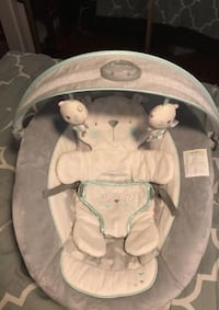 baby's white and gray bouncer Washington, 20024