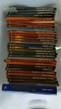 assorted color book lot in box