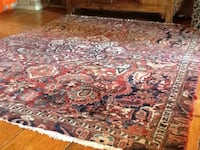 Hand knotted Persian wool over cotton  6'4 x 8' Orangeville, L9W