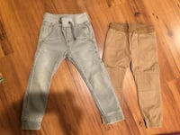 two gray and brown pants Springfield, 22152