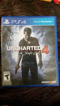 Uncharted 4 A Theif's End
