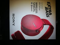 WIRELESS SONY HEADSET NEW IN ORIGINAL BOX 784 km