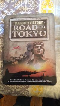 Road to tokyo dvd movie case collectors edition Mississauga, L4T 1X6