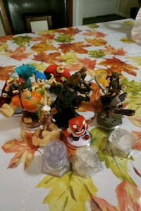 big set of figures for the game disney infinity  Fairfax, 22033