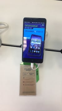 black android smartphone with box Virginia Beach, 23462