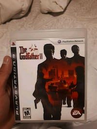 Sony PS3 The Godfather II case