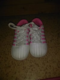 pair of white-and-pink Adidas sneakers El Paso, 79924