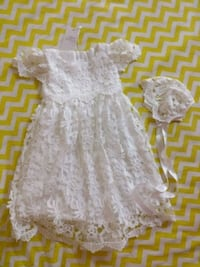 NEW never used Baptism dress 6-12 Months Baby girl Cambridge, N1R