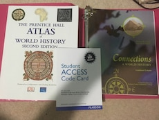 Connections: A World History - History Of Civ Textbook for sale  Daytonville, NY