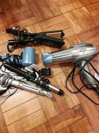 Bundle of Hair Dryers,  Irons and Curlers Washington, 20005