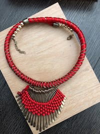 Antique red necklace jewellery Toronto, M5V 3R5