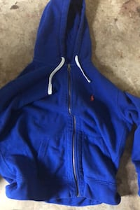 XL Polo Zip up holdie