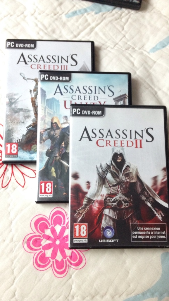 Trois Assassin's Creed PC DVD-Rom