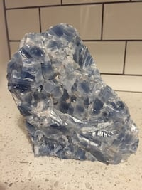 Complex of Blue Calcite 5.5 inches tall, 5 inches long, 3 inches wide  Washington, 20003