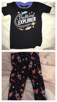Toddler space pjs brand new