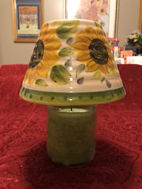 Sunflowers Ceramic Candle Shade