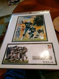 Jerry Rice New Oakland Raiders poster