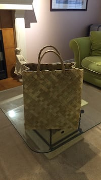 Bayong Bag , for groceries, picnic.  Made of coconut leaves.