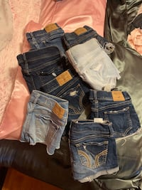 ALL FOR $85! Hollister shorts x8
