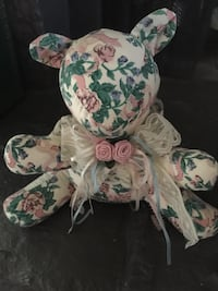 1989 floral and lace fancy teddy bear. Excellent condition  Tulsa, 74134