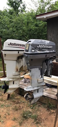 1, 2005 and 1, 2000 model Johnson outboard motor