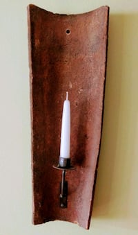 Wall Clay Candle Holder Hastings, 68901