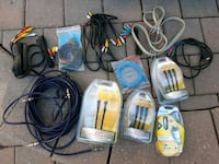 Assorted high end cables. Take all Mississauga, L5C 3A5
