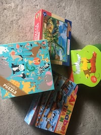 Floor puzzles - lot of 4 all gently used