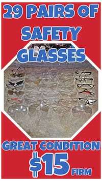29 Pairs of Safety Glasses DuPont, 98327