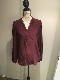 Joe Fresh silk blouse size small Oakville, L6H 1Y4