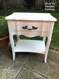 French Provincial Bedside Table Toronto