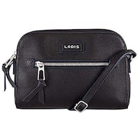 Lodis Charlotte Leather Crossbody Handbag-Black