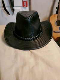 Black leather cowboy hat Martinsburg, 25401