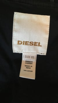 Diesel size xs leather apparel tag Ottawa, K1M 2A4