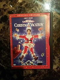 Christmas Vacation movie case