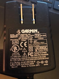 Genuine Garmin QUEST GPS 5V 1.0A 5W home wall charger power supply TRC-05-1000 Independence, 97351