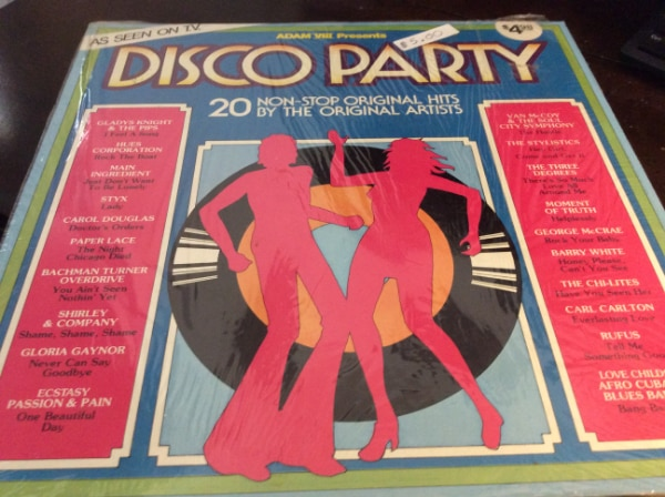 JUST REDUCED Vinyl Record Disco Party