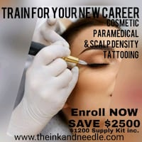 TRAINING FOR Specialized Tattooing Calgary