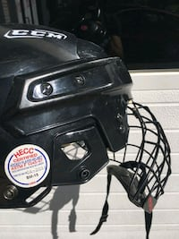 CCM Ice Hockey Helmet with Face Cage Size  SM-15