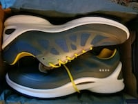 pair of blue-and-white Nike running shoes Methuen, 01844