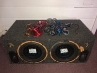 Subwoofer 12 inch box and Dual Loaded Speakers  Hifonics Oviedo, 32765