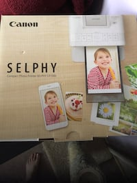 Selphy printer. Almost brand new. Used once  Waterloo, N2L