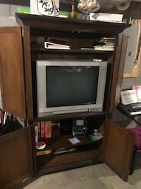 Pottery Barn armoire cabinet...  Clarksville, 37043