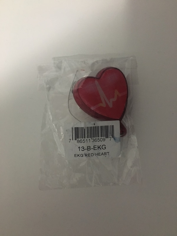 Heart ECG pull ID out tag