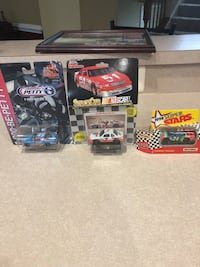 Unopened NASCAR cars Chantilly, 20152