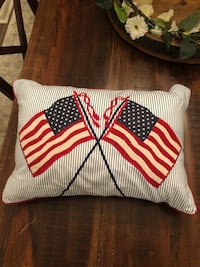 Patriotic Decorative Throw Pillow Alexandria, 22304
